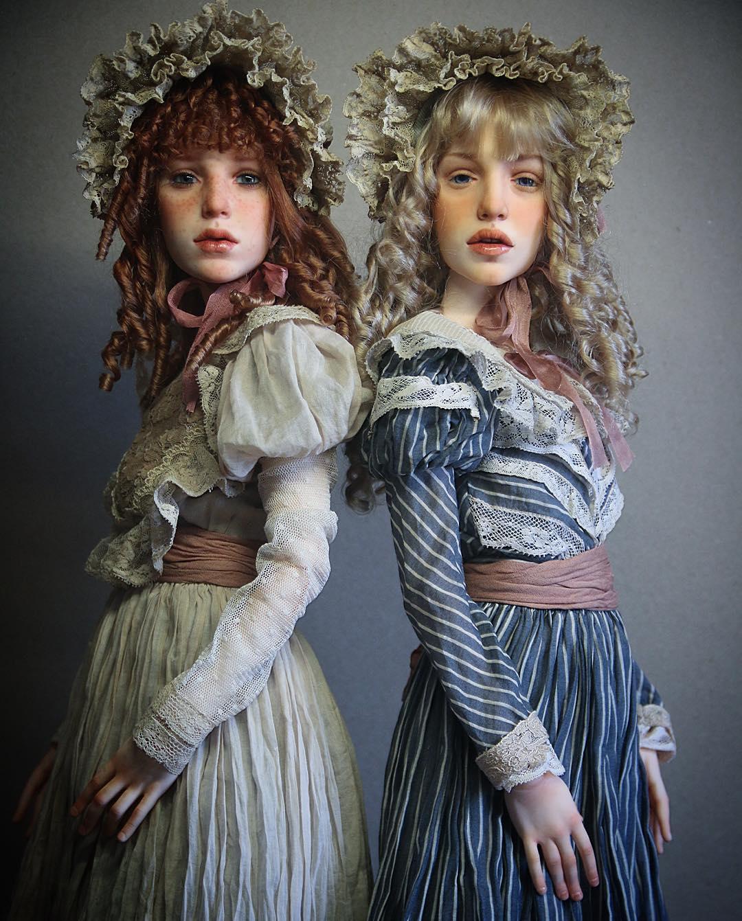 куклы своими руками, изготовление кукол своими руками, куклы сделанные руками фото-7