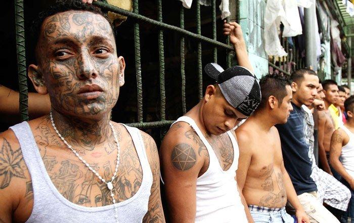 мара сальватруча, мс-13, сальвадор, банда, фото № 3