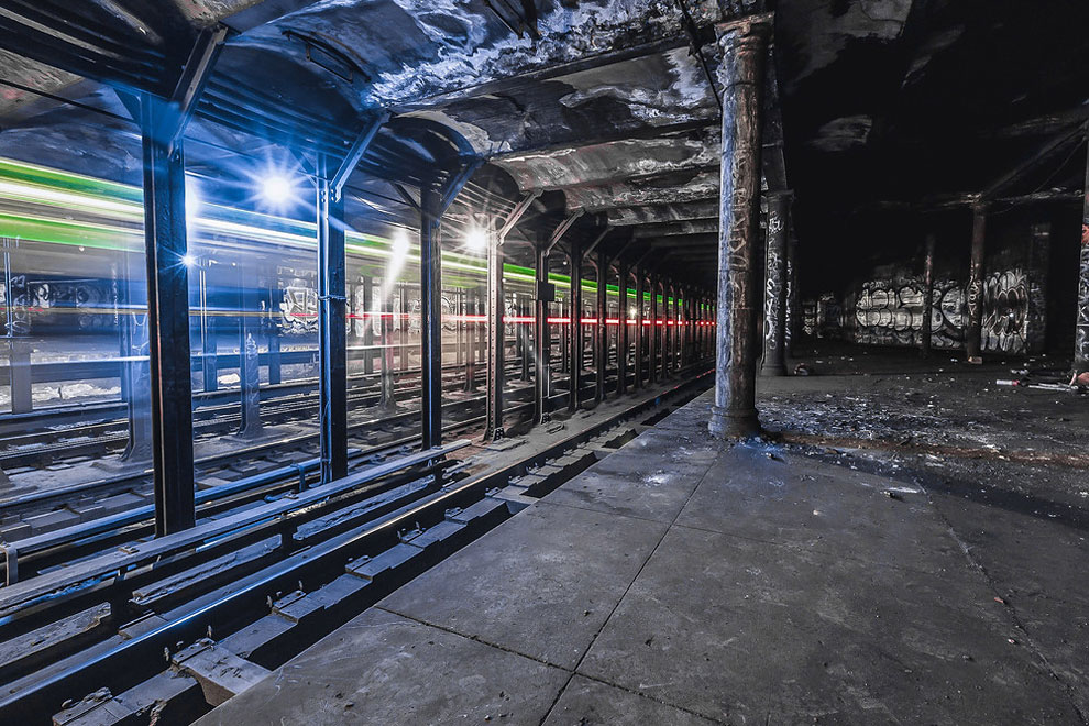 метро Нью-Йорка, фото станций метро, заброшенные станции метро, фото № 1