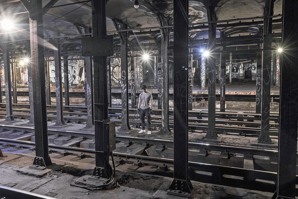 метро Нью-Йорка, фото станций метро, заброшенные станции метро, фото № 10