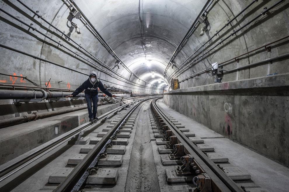 метро Нью-Йорка, фото станций метро, заброшенные станции метро, фото № 12