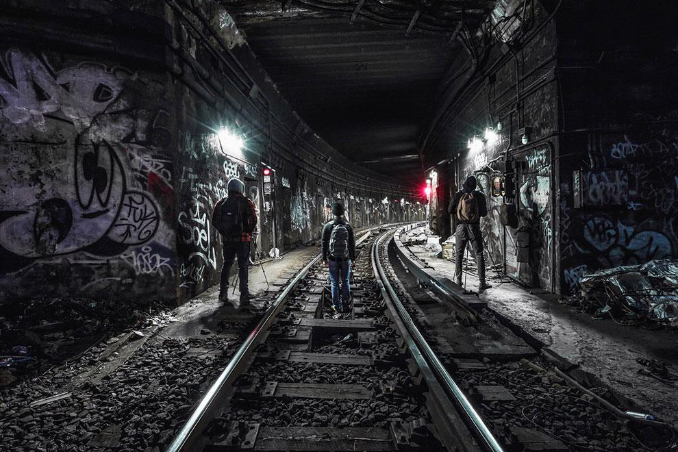 метро Нью-Йорка, фото станций метро, заброшенные станции метро, фото № 14