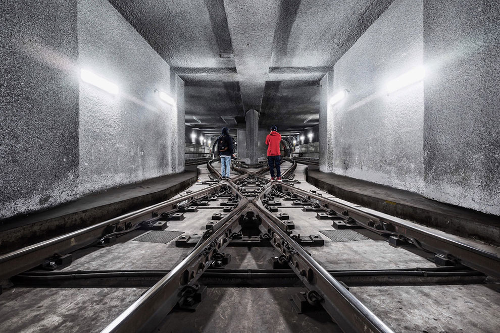 метро Нью-Йорка, фото станций метро, заброшенные станции метро, фото № 15