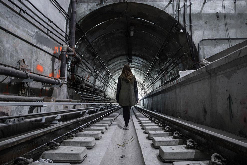 метро Нью-Йорка, фото станций метро, заброшенные станции метро, фото № 2