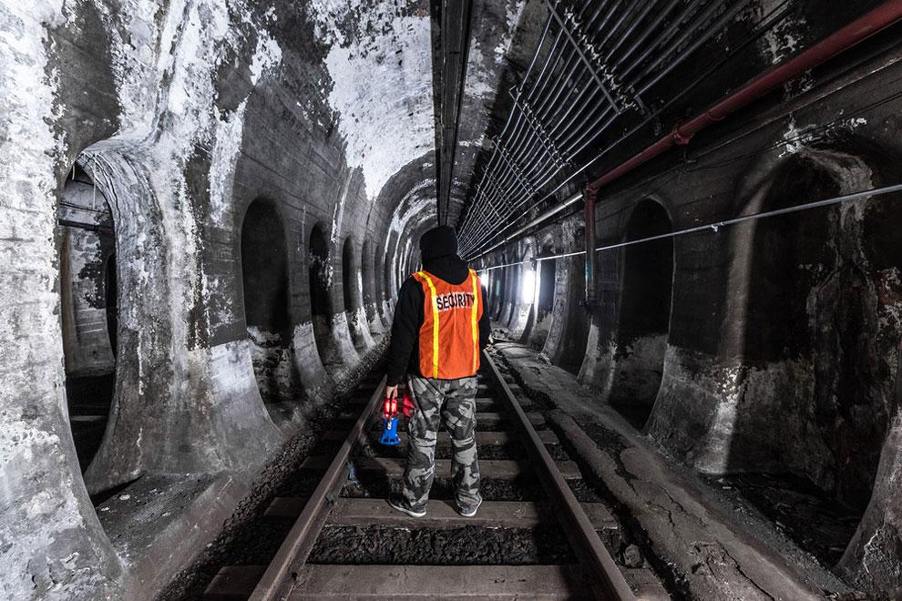 метро Нью-Йорка, фото станций метро, заброшенные станции метро, фото № 4