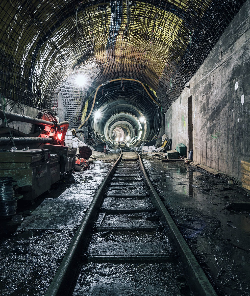 метро Нью-Йорка, фото станций метро, заброшенные станции метро, фото № 9