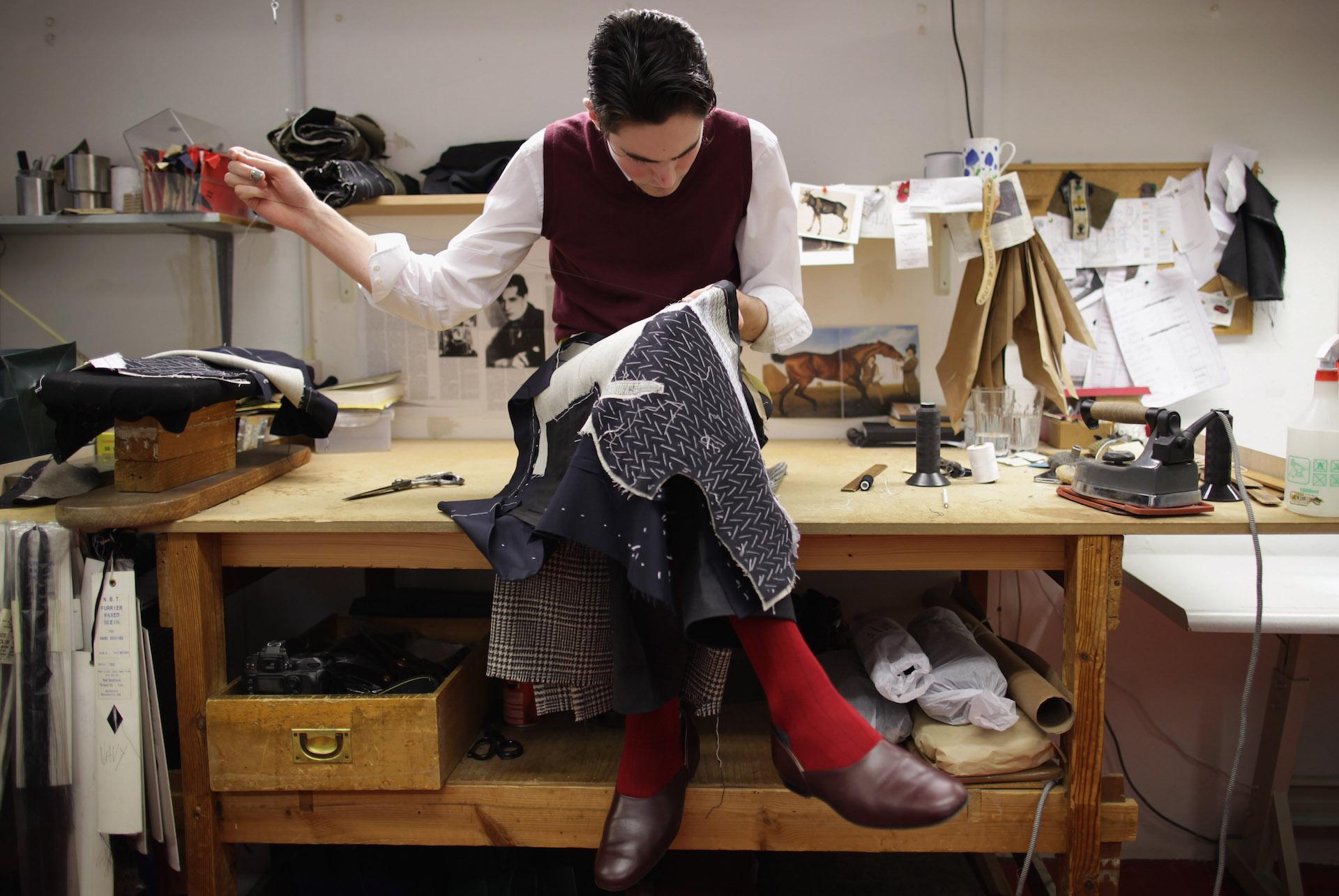 одежда ручной работы, ателье по пошиву костюмов, хорошая ручная работа-5
