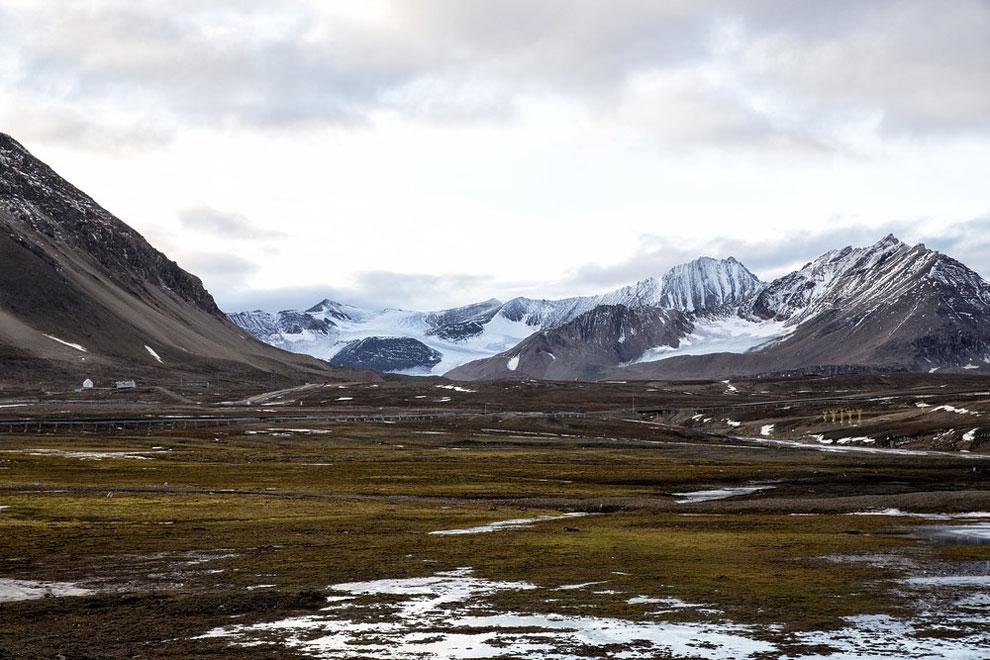 острова Арктики, буря в Арктике, остров Шпицберген, на краю света, архипелаг, фото № 1