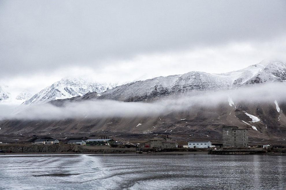 острова Арктики, буря в Арктике, остров Шпицберген, на краю света, архипелаг, фото № 3