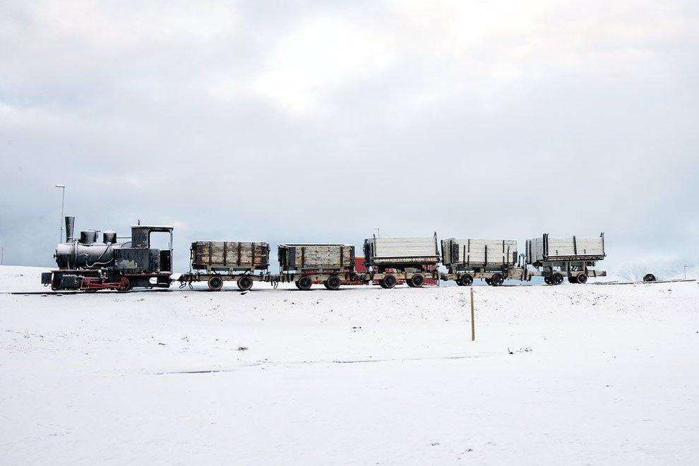острова Арктики, буря в Арктике, остров Шпицберген, на краю света, архипелаг, фото № 9