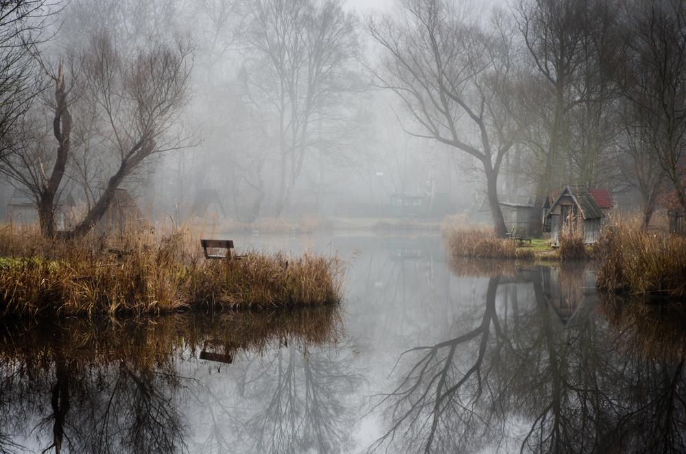 отражение в воде, рыбацкая деревня, брошенные деревни, рыбацкий поселок, фото № 7