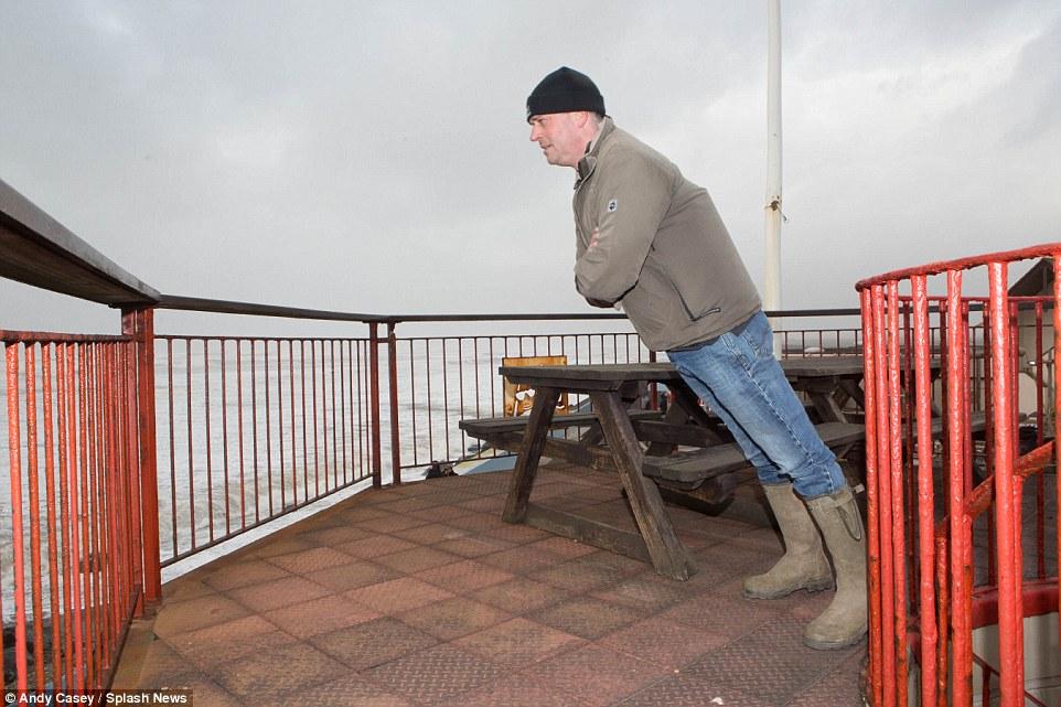 шторм в Великобритании, ураган, Корниш, фото № 16
