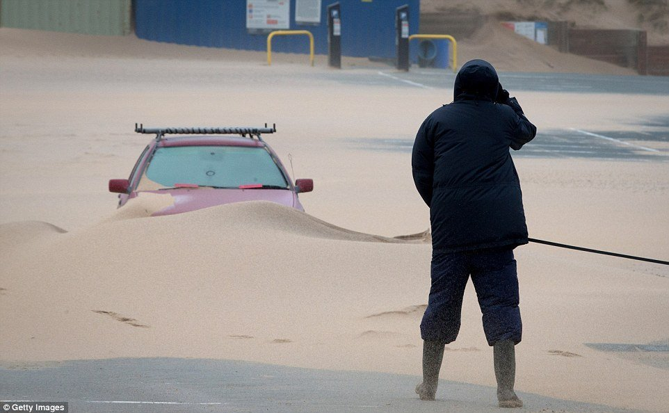 шторм в Великобритании, ураган, Корниш, фото № 5