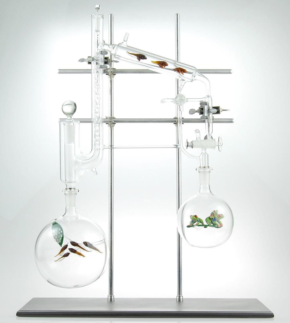 скульптуры из стекла-5