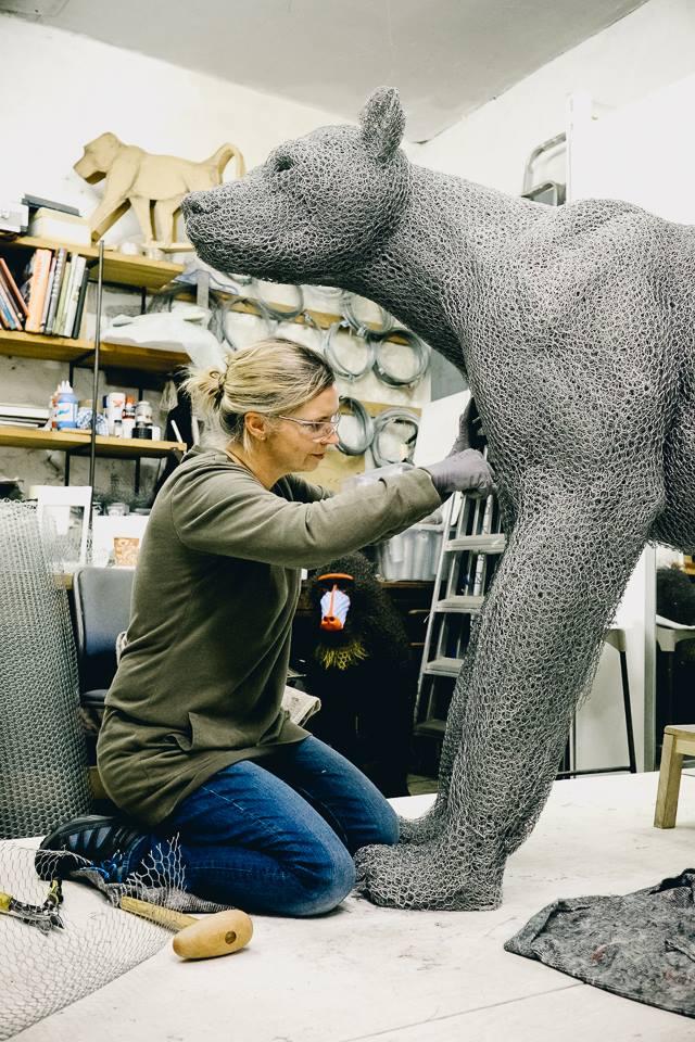 скульптуры животных, школа современного искусства, выставка современного искусства-1