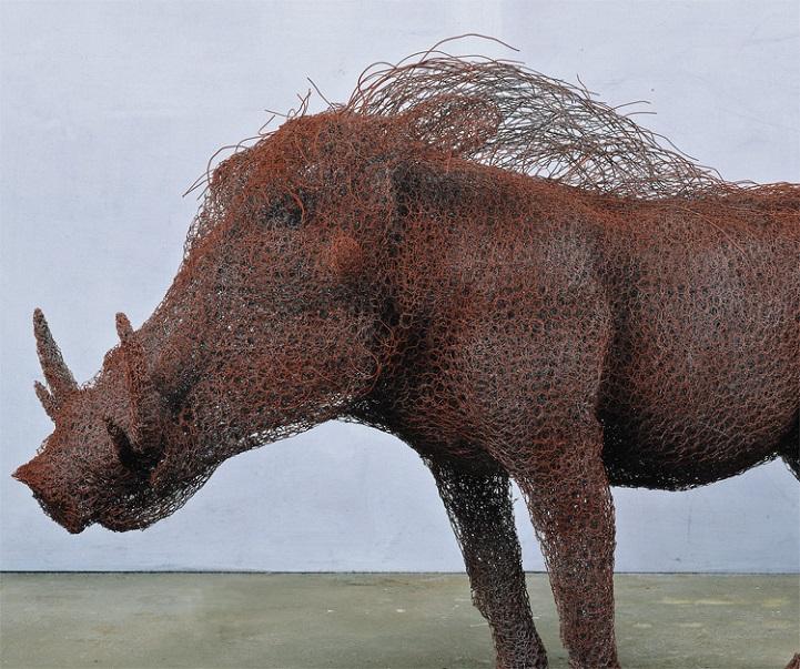 скульптуры животных, школа современного искусства, выставка современного искусства-10