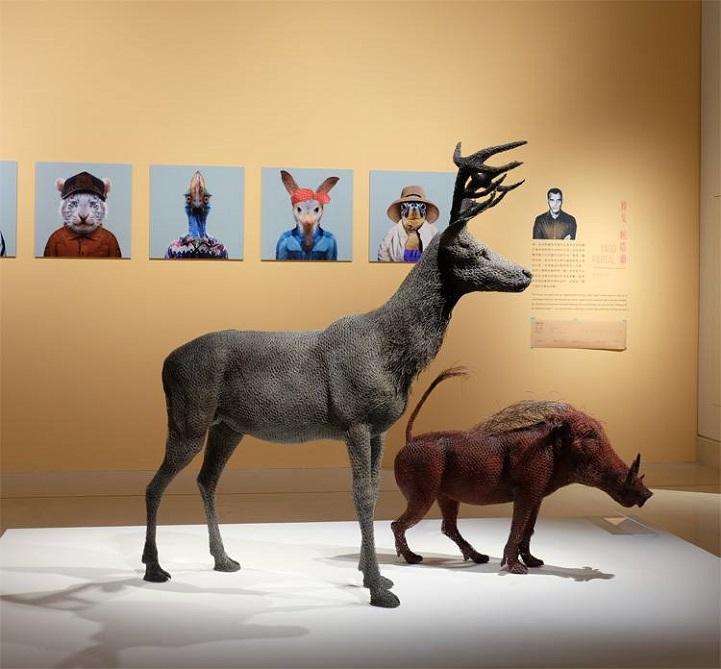 скульптуры животных, школа современного искусства, выставка современного искусства-11