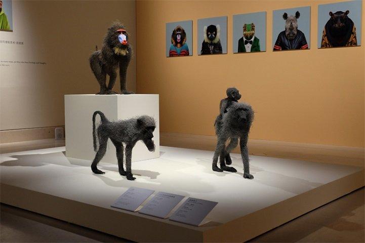 скульптуры животных, школа современного искусства, выставка современного искусства-15