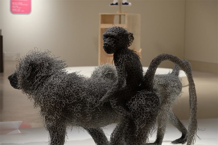 скульптуры животных, школа современного искусства, выставка современного искусства-16
