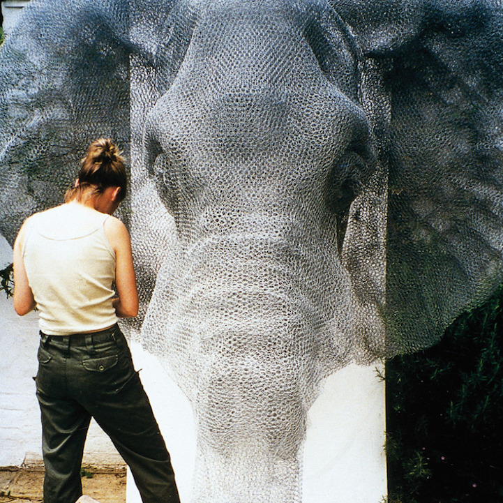скульптуры животных, школа современного искусства, выставка современного искусства-2