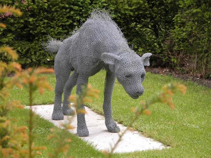 скульптуры животных, школа современного искусства, выставка современного искусства-4