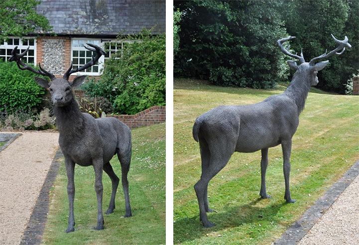 скульптуры животных, школа современного искусства, выставка современного искусства-5
