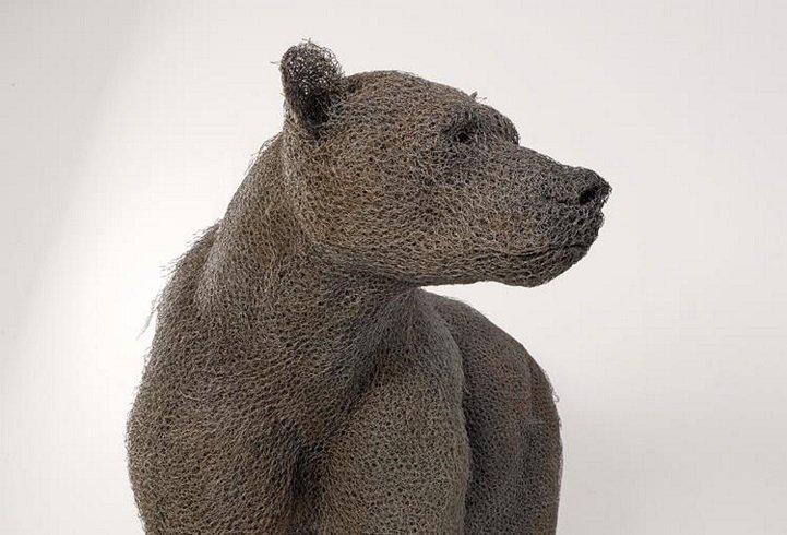скульптуры животных, школа современного искусства, выставка современного искусства-6