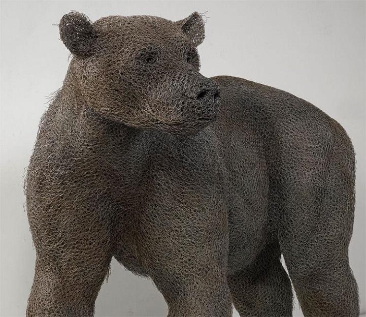 скульптуры животных, школа современного искусства, выставка современного искусства-7