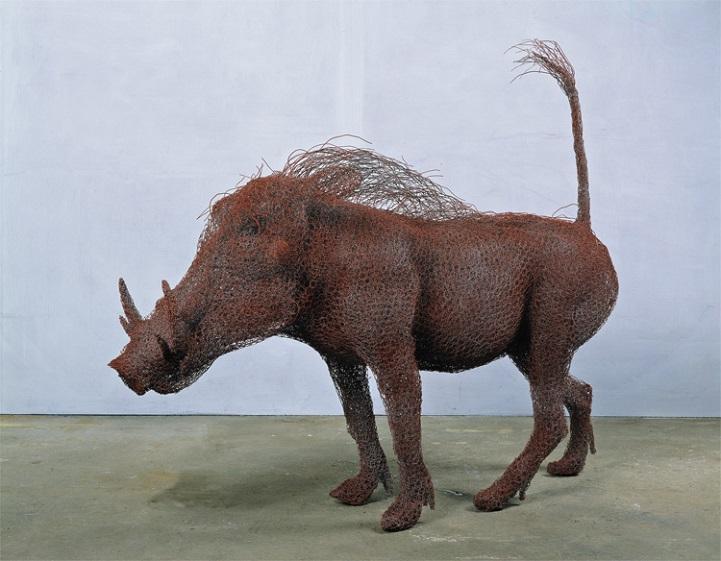 скульптуры животных, школа современного искусства, выставка современного искусства-9