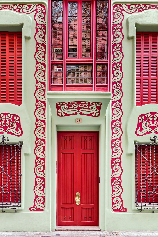 стиль модерн в архитектуре, памятники Барселоны, архитектура Барселоны, архитектура Испании, дома в Испании, фото № 2