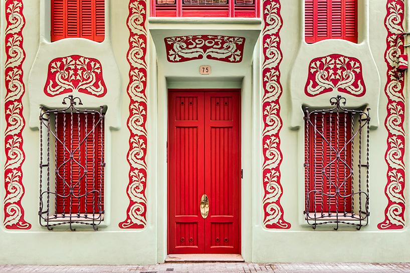 стиль модерн в архитектуре, памятники Барселоны, архитектура Барселоны, архитектура Испании, дома в Испании, фото № 4