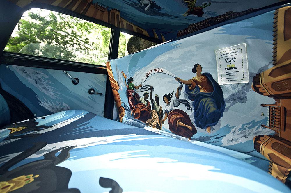 транспорт Индии, такси Индии, тюнинг такси, окраска салона автомобиля, дизайн салона автомобиля-3