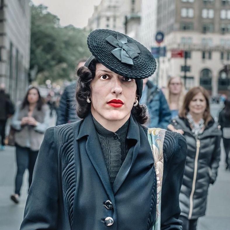 жители Нью-Йорка, мода Нью-Йорка, улицы Нью-Йорка, фото города Нью-Йорк, фото № 3