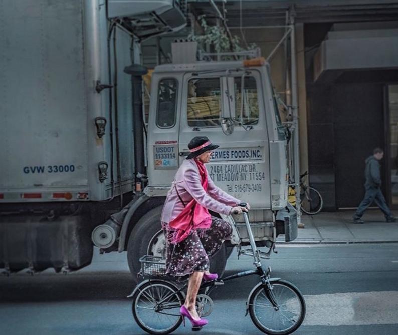 жители Нью-Йорка, мода Нью-Йорка, улицы Нью-Йорка, фото города Нью-Йорк, фото № 4