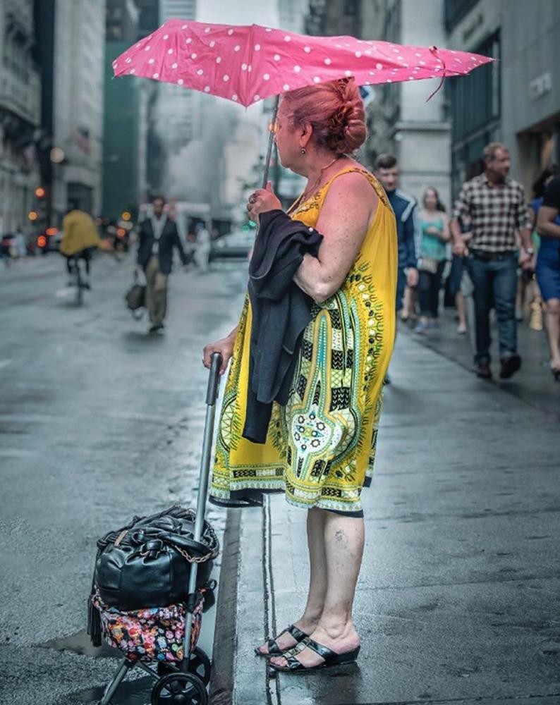жители Нью-Йорка, мода Нью-Йорка, улицы Нью-Йорка, фото города Нью-Йорк, фото № 9