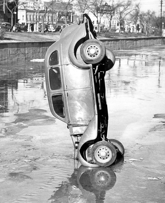Бостонские аварии 30-х гг. ХХ века. 40 фотографии
