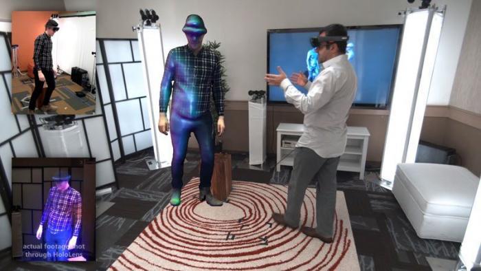 3D «Голопортация» позволяет вам виртуально общаться с людьми, словно они рядом с вами