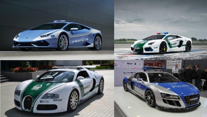 10 самых дорогих в мире полицейских автомобилей