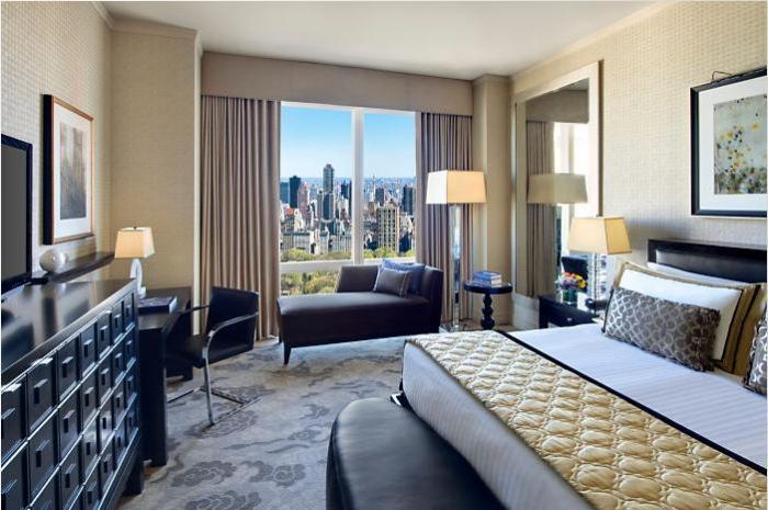 Самые лучшие отели класса люкс рядом с Центральным парком Нью-Йорка