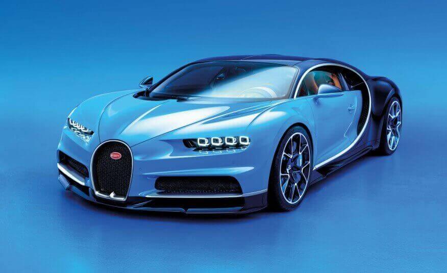 Новый наследник Bugatti Veyron стоимостью более 2 миллионов евро