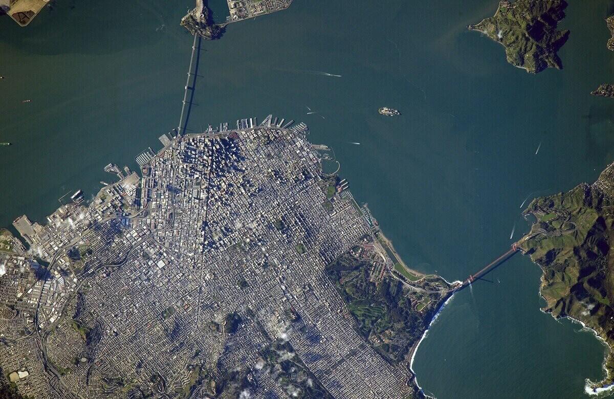 3.Сан - Франциско, снято 7.03.2016.