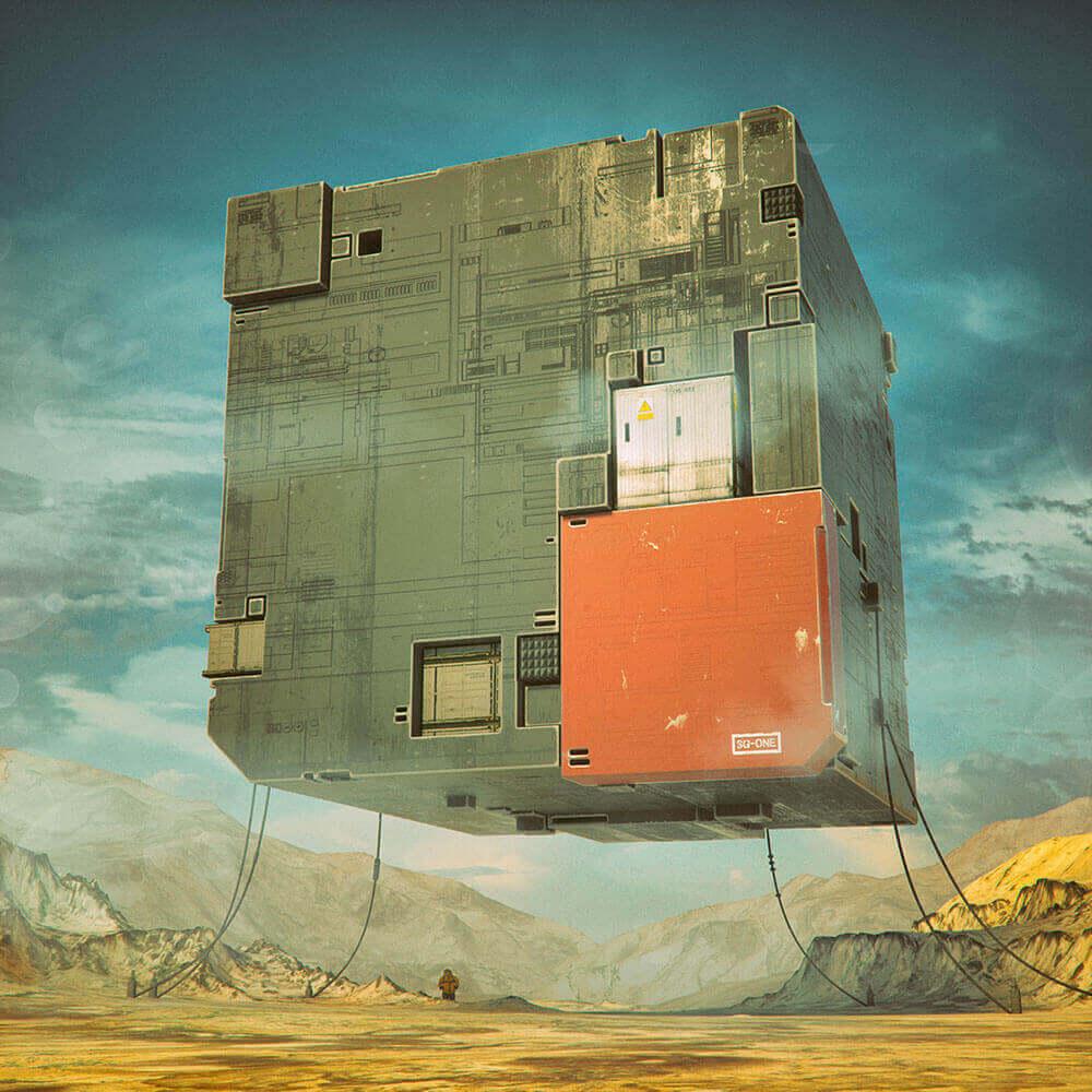 Удивительный художник Майк Винкельман ежедневно создает концептуальные иллюстрации, охватывающие почти десять лет