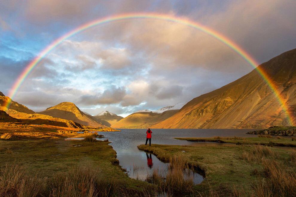 """В поисках золота, снимок сделан в Вест Вотере в Камбрии, получил награду #OMGB """"Дом удивительных моментов"""""""