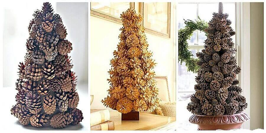 Оригинальные новогодние елки своими руками 1