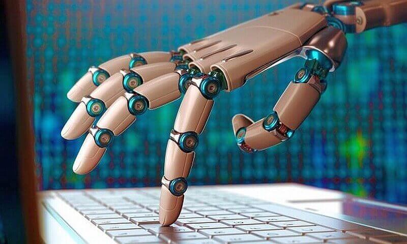 Роботу-писатель с искусственным интеллектом