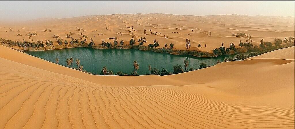 пустыня Сахара, оазисы