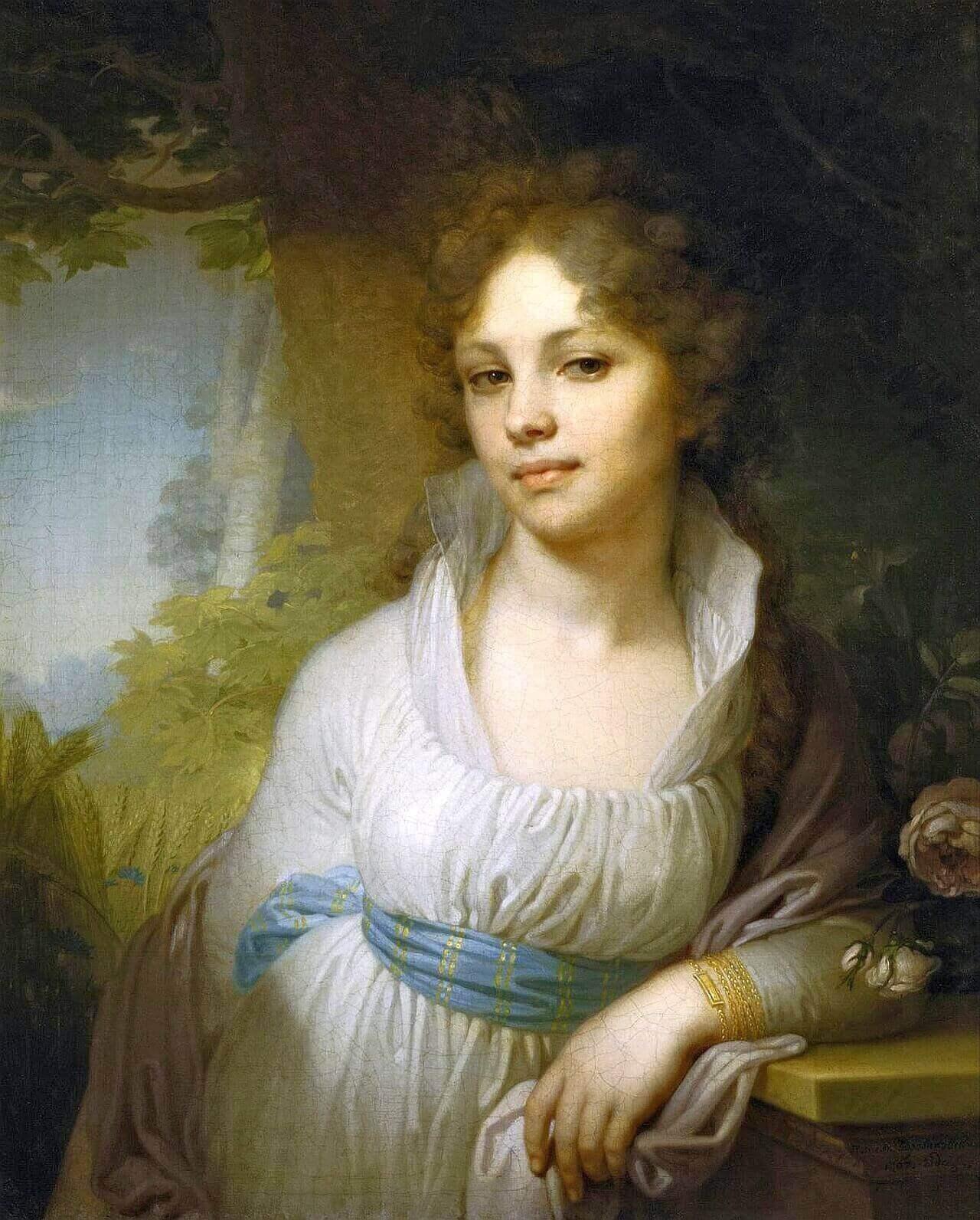 Портрет Марии Лопухиной