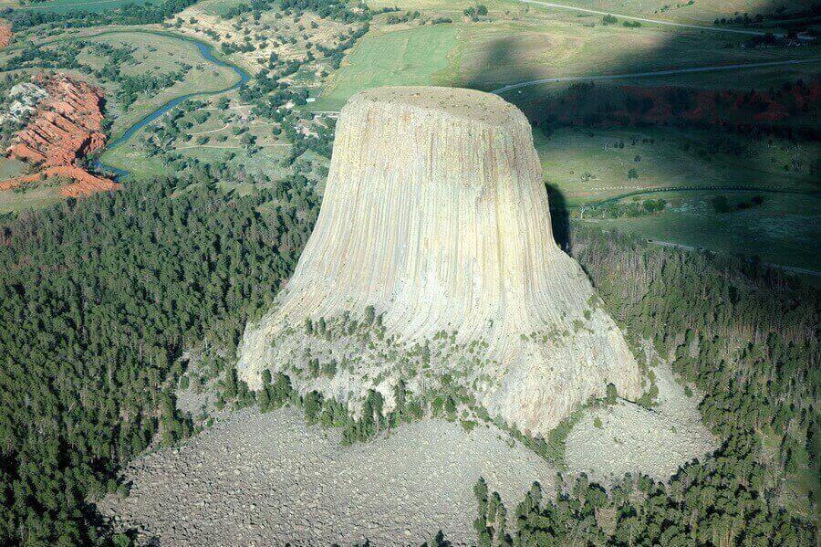 Башня дьявола. Вайоминг, США.