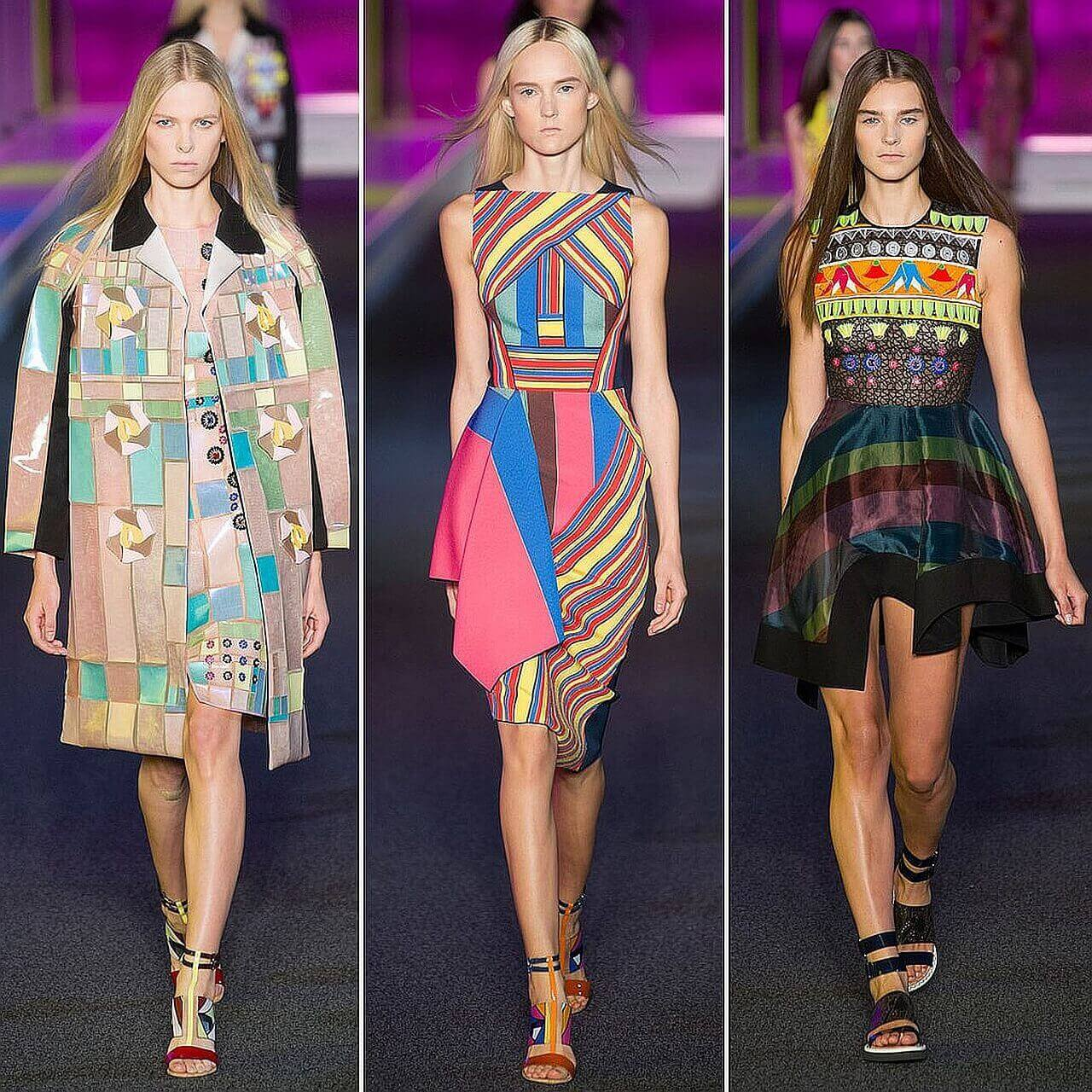 Модные тенденции Геометрические принты