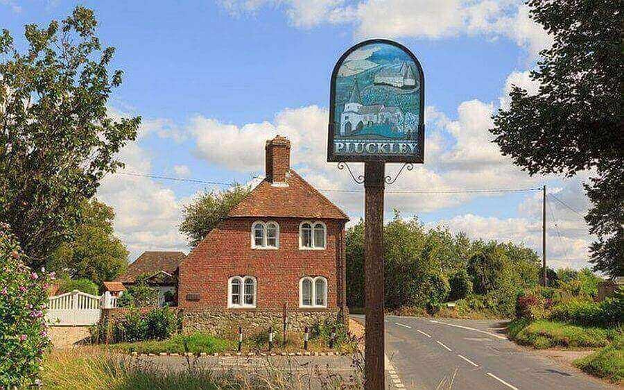 Деревня Плакли. Англия